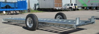 SINGLE AXLE SUSPENSION BIN TRAILER